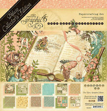Graphic 45 Once Upon A Springtime Deluxe Collector's Edition 3 Piece Set