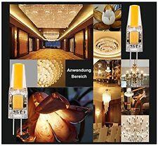 10x G4 2W LED Lampe Leuchtmittel AC DC 12V Stiftsockel Warmweiß 2800K Birne Neu