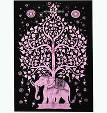 Indian Hippie Wall Hanging Elephant Mandala Tapestry Bedspread Boho Beach Throw