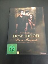 New Moon - 2 Disc German Fan Edition Has English option.All inserts and Poster