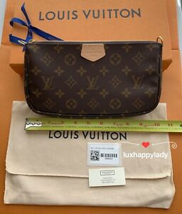 🔥NEW LOUIS VUITTON Monogram Multi Pochette Accessories Large Pochette ONLY