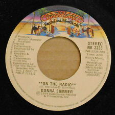 Donna Summer -On The Radio /There Will Always Be A You~1979 R+B 45