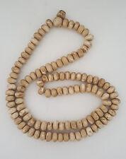 "Tibetan Buddhist Huge Conch Shell 108 Prayer Beads 47"" - Nepal"