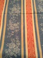 Laura Ashley Vintage French Inspired Blue/red/cream Fabric - New