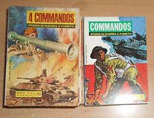ED.BIANCONI  SERIE  COMMANDOS   LOTTO  16  NUMERI  1969  ORIGINALE !!!!!