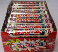 Mega Smarties 24 ct Box Rolls Candy Smarty Ce De Candy Bulk Candies Smartie Roll