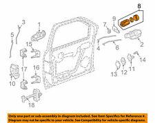 GM OEM Front Door-Lock Cylinder 12458183 ( New #15782681 )