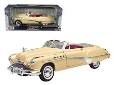 1949 BUICK CONVERTIBLE CREAM 1:18 SCALE DIECAST MODEL CAR BY MOTORMAX 73116