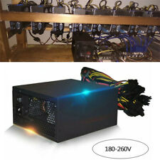 2000W Portable Computer Mining Power Supply ATX Fit For 8 Graphics Card Eth Coin