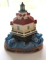 Thomas Point Maryland Lighthouse Decorative Figurine- Asian Pacific Imports