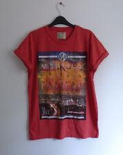Burton Mens t-shirt Tamaño mediano Rojo