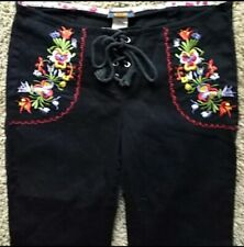 Miss Me Pants Embroidered Pants