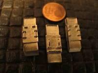 3 Winkelspiegel Spiegel Metall Bausatz Kit Zubehör WWII RC Panzer Tiger 1/16