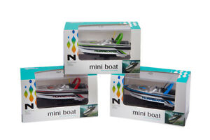 MINI BOAT REMOTE CONTROL RC SPEED BOAT 777-218 RED BLUE GREEN YELLOW SMALL