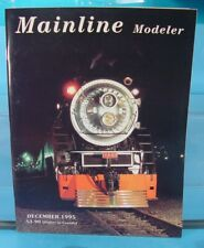 HO,S,N,O MAINLINE MODELER MAGAZINE DECEMBER 1995 TABLE OF CONTENTS PICTURED