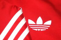 Adidas Originals firebird classic red retro stylish jacket track top Large L/G