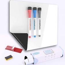 Magnetic Dry Erase Whiteboard Sheet For Kitchen Fridge16 X 12 In