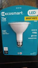 EcoSmart 75W Bright White PAR30 LED Light Bulb Indoor/Outdoor Dimmable 800 lumen