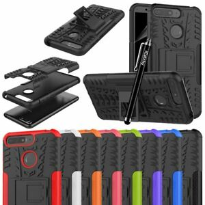 For Huawei Y6 2018 Case, Heavy Duty Armour Tough Quality Shock Proof Cover Pouch