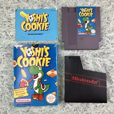 YOSHIS COOKIE NINTENDO NES GAME BOXED INCLUDING CARTRIDGE, CASE & MANUAL