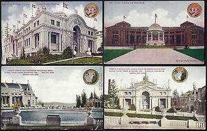US 1909 COLLECTION OF 20 WORLD FAIR POST UNUSED OF THE ALASKA YUKON PACIFIC EXPO