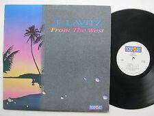 LP T Lavitz - From The West - VG++ Danny Gottlieb / Maria Muldaur