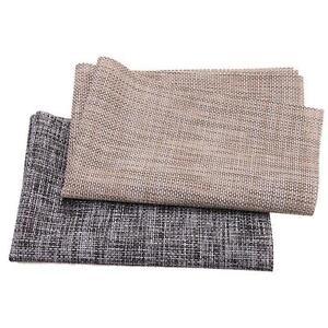 Home Linen Weave Mat Adiabatic Placemat Table Mat Protector Food Bowl Mat IT