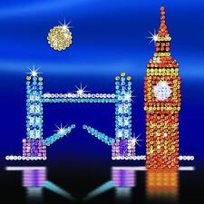 Sequin Art® LONDON SKYLINE  Sparkling Arts and Crafts Picture Kit (Free Ship)
