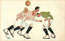 Soccer, Football, Calcio, Humorous Set of 8 Postcards by Duda, Italy