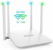 WAVLINK 1200Mbps High Power Long Range Wireless Wi-Fi Router AC1200 Dual Band 2