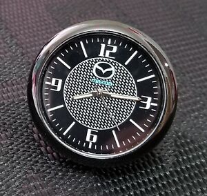 For Mazda Car Clock Refit Interior Luminous Electronic Quartz Ornaments Gift