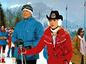 LYNN HOLLY JOHNSON 007 JAMES BOND AUTHENTIC AUTOGRAPH BIBI FOR YOUR EYES ONLY!