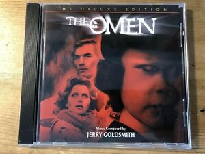 THE OMEN - DELUXE EDITION (Jerry Goldsmith) OOP Varese Score Soundtrack CD NM