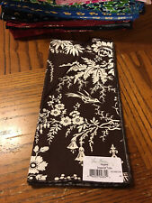 Vera Bradley 1 Birds/trees IMPERIAL TOILE Dinner Fabric Napkin NEW NWT LAST ONE