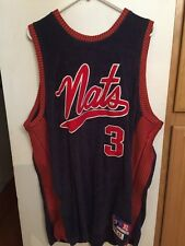 RARE!! 1948-1949 SYRACUSE NATIONALS IVERSON SIXERS 76ERS Throwback  Jersey Sz XL
