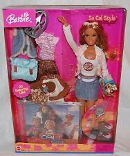 SO CAL STYLE BARBIE DOLL 2004 CALI GIRL # G6037 CALIFORNIA TAN CLOTHES CD MATTEL