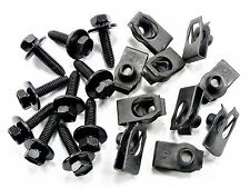 MG Body Bolts & Extruded U-Nuts- Qty.10 ea.- M6-1.0mm x 25mm- 10mm Hex- #142