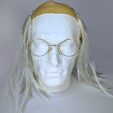 Old Man / Mad Scientist Wig With Glasses