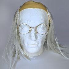Old man/mad scientist perruque avec lunettes