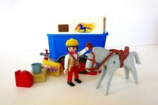 PLAYMOBIL Farm Horse Transport Set 3851 Incomplete