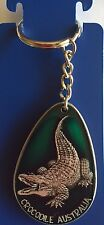Salt Water Croc  key ring  made of the highest quality pewter great detail 3 D