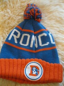 Mitchell and Ness Denver Broncos Knit Beanie