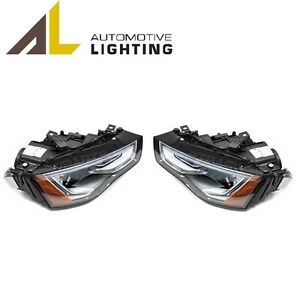 For Audi A5 Quattro RS5 Pair Set of 2 Xenon Headlights OEM Automotive Lightning