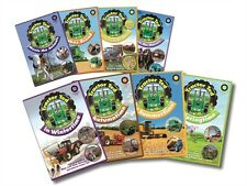 Tractor Ted 3 DVD Set - Children's Farming Horses Animals Diggers Educational