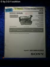 Sony Service Manual DCR TRV255E TRV260 TRV265 TRV265E Level 1 (#5795)
