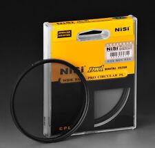 Filtre polarisant CPL Nisi 58mm Wide band Pro DW1 pour Canon 18-55mm Nikon Sony