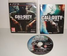 JEU SONY PLAYSTATION 3 PS3 CALL OF DUTY BLACK OPS COMPLET FRANCAIS