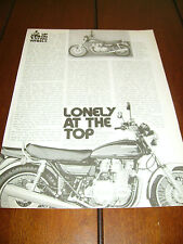 1977 KAWASAKI KZ-1000  -- LONELY AT THE TOP--
