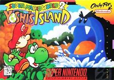 Super Mario World 2 Yoshi's Island SNES Great Condition Fast Shipping