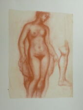 Astride Maillol lithographie femme nu  Armory Show New York musée Maillol